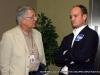 MTSU adjutant professor Jo White chats with Michael Krause