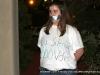 Silent protester outside the Riverview Inn