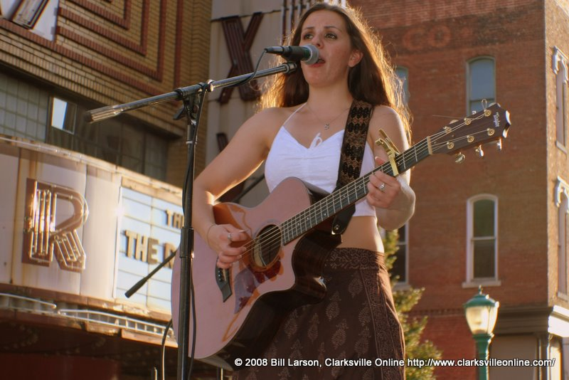 Live entertainment at Franklin Street Brewers' Fest