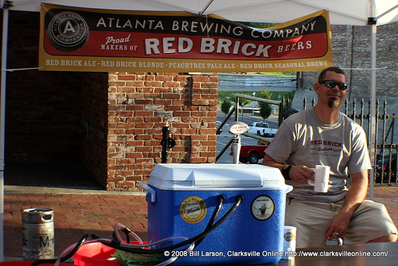 Franklin Street Brewers' Fest Micro-brewery vendor