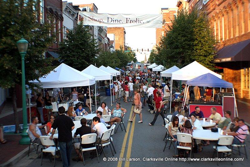 Brewers Fest street scene