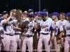 Clarksville High gets 2-0 win over Rossview to become District 10-AAA Baseball Champions.