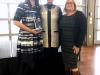 Toniann Thompson Receiving the 2017 Community Involvement Award