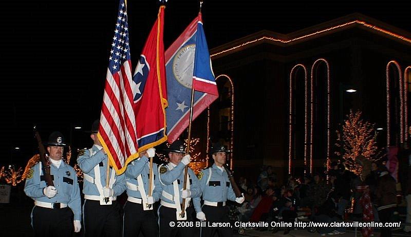 Clarksville, TN 2008 Christmas Parade