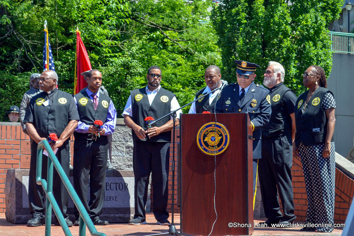 Clarksville-Montgomery County Police Week Memorial local law enforcement ceremony was held Friday, May 17th.