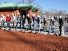 Ground breaking ceremony of new Scenario House for the Clarksville Police Department. (Photo by CPD-Jim Knoll)