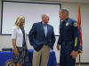 Clarksville Police Department holds retirement ceremony for Deputy Chief Michael Parr.