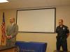 Clarksville Police Department holds Retirement Ceremony for Officer Russ Baker