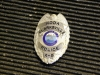 Clarksville Police Department K-9 Koda\'s badge.  (Photo by CPD-Jim Knoll)