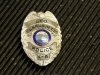 Clarksville Police Department K-9 Leo\'s badge.  (Photo by CPD-Jim Knoll)