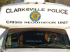 Clarksville Police Department & Montgomery County Sheriff's Office work together to take Suicidal Man into Custody.