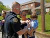 Clarksville Police Department Officers join Clergy Rapid Mobilization Team for Community Outreach