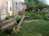 Damage done to the house. (Photo by CPD-Jim Knoll)