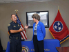 Clarksville Police Department's Deputy Chief Charles Gray retirement ceremony