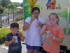 "Kona Ice of Greater Clarksville and Clarksville Police held ""Kona Cones and a Cop"" on July 12th. (Jim Knoll, CPD)"