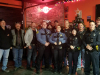 Clarksville Police, Montgomery County Sheriff's Office help Bikers Who Care with their holiday money give-away.