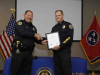 Clarksville Police Officer Bob Peterson Retirement Ceremony