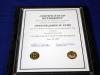 Clarksville Police Officer James Eure's Certificate