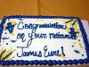 Clarksville Police Officer James Eure's Cake