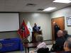 Clarksville Police Officer James Eure retirement ceremony