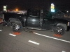 A 2007 Chevy Silverado pickup was rear ended on 101st Airborne Parkway by a Chrysler Sebring early Monday morning. (Photo by CPD-Jim Knoll)