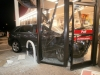 A 2011 Toyota Venza went crashed into the front of the Kangaroo Express on Tiny Town Road Wednesday night. (Photo by CPD-Officer Daniel Wimmer)