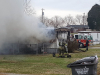 Clarksville Police responded to a mobile home fire this afternoon on Notgrass Road. (Sgt Blackmon, CPD)