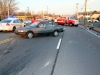 1987 Chevy Nova turned in front of an oncoming 2008 Harley Motorcycle on Madison Street. (Photo by CPD-Jim Knoll)