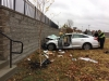 Clarksville Police reports Vehicle Crash injures Four at Governors Square Mall
