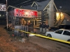 Clarksville Police processing the crime scene of a shooting death at C-Ray's Social Club on Fort Campbell Boulevard Friday Night. (Photo by CPD-Jim Knoll)