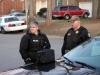 Crisis Negotiators, Detective Tina Slaven and Lt Phil Ashby and South 7- Negotiators, Sgt Liane Wilson (L) and Detective Tina Slaven. (Photo by CPD-Jim Knoll)
