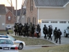Tactical Unit deploying to Southwood Ct. (Photo by CPD-Jim Knoll)