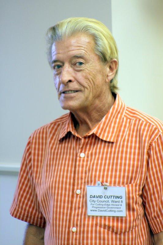 David Cutting, Ward 8 City Council candidate