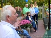 Rep. Borchert speaks from patio yard