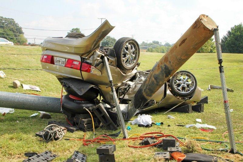 Drag Racing Crash Sends Three To The Hospital