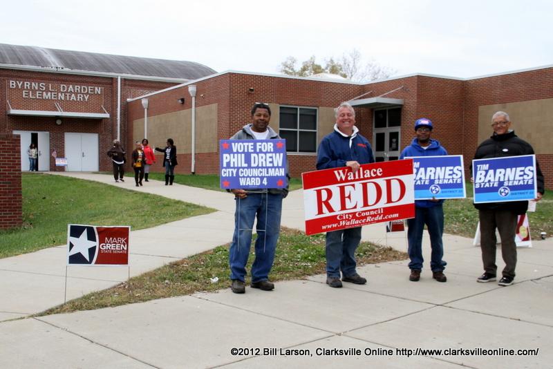 Election Day 2012 Clarksville Tn Online