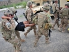 U.S. Soldiers with the 2nd platoon, Whiskey Company, 2nd Battalion, 506th Infantry Regiment, attached to the 4th Brigade Special Troops Battalion carry a simulated casualty to a casualty collection point during a mass casualty exercise at Forward Operating Base Salerno, Khost province, Afghanistan, Aug. 6, 2013. (U.S. Army photo by Maj. Kamil Sztalkoper/Released)