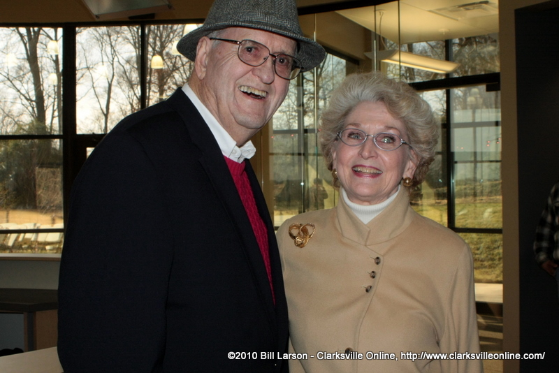 Judge Sam Boaz with his wife Dee