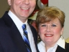 Rep. Joe Pitts and wife Cindy smile for victory