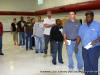 A short line then it\'s time to vote