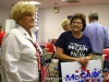 Billie Combs and Kathy Wallace at the Republican Party Headquarters