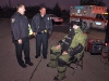 Sgt Stone with Officer Coz Minetos and Sgt Mark Wojnarek. (Photo by CPD-Jim Knoll)