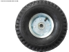 3-piece, Four Bolt, Metal/Chrome Plated Tires