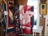 Patriotic quilts make an appearance