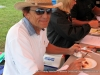 Bobby Melton was one of the BBQ judges.
