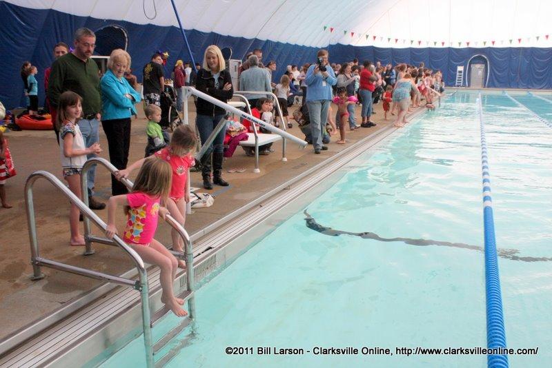 The New Indoor Aquatic Center Opened On Saturday Clarksville Tn Online
