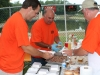 Bubba's Tennessee Smokers team prepare barbecue sandwiches