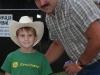 "Cowboy  ""In the Wings"" at Kiwanis rodeo 2008"