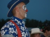 Rodeo Clown at Kiwanis Rodeo 2008
