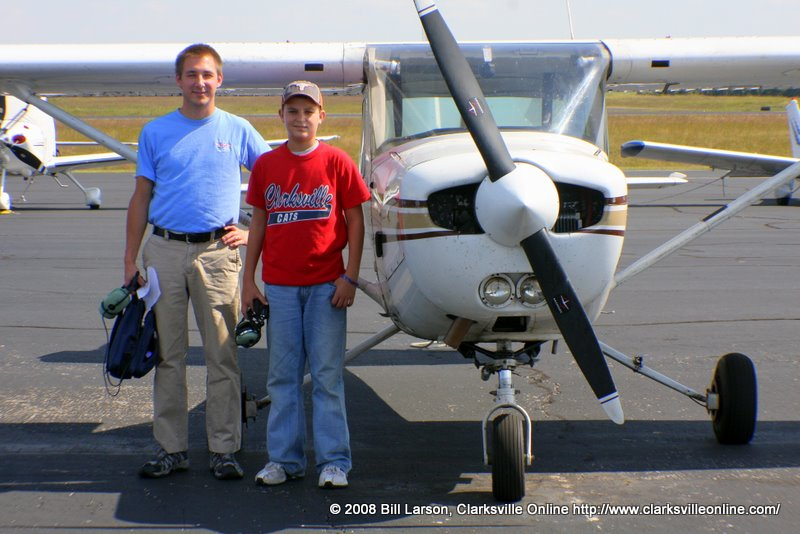 A young pilot trainee